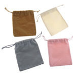 Jewelry Drawstring Bags, 95x105x2mm, 100PCs/Bag, Sold by Bag