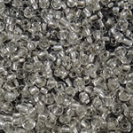 Silver Lined Glass Seed Beads, 2x1.90mm, Hole:Approx 1mm, Sold by Bag