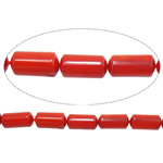 Natural Coral Beads Tube red 4x8mm Hole:Approx 1mm Length:Approx 16 Inch 10Strands/Lot Approx 50PCs/Strand