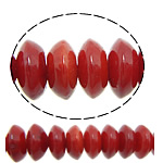 Natural Coral Beads Rondelle red 6x3mm Hole:Approx 1mm Length:Approx 16  10Strands/Lot Approx 101PCs/Strand