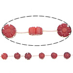 Natural Coral Beads, 10x5mm, Hole:Approx 0.5mm, Length:15 Inch, 10Strands/Lot, Sold by Lot