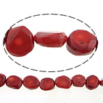 Natural Coral Beads, 23x10mm, Hole:Approx 1.5mm, Length:17 Inch, 10Strands/Lot, Sold by Lot