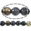 Natural Fire Crackle Agate Beads, Round, faceted, 12mm, Hole:Approx 1.5mm ,Length:15 Inch, 10Strands/Lot, Sold By Lot