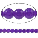 Crackle Glass Beads, Round, purple, 10mm, Hole:Approx 1.5mm, Length:Approx 31.4 Inch, 10Strands/Bag, Sold By Bag