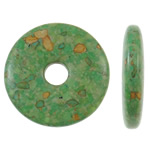 Turquoise Beads, 45x8mm, Hole:Approx 10mm, 50PCs/Bag, Sold by Bag