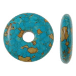 Turquoise Beads, 30x7mm, Hole:Approx 7mm, 50PCs/Bag, Sold by Bag