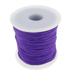 Nylon Cord, purple, 1mm, Length:Approx 100 Yard, Sold By PC