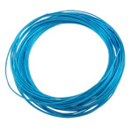 Aluminum Wire, electrophoresis, skyblue, 1mm, Length:Approx 100 m, 10PCs/Bag, Sold By Bag