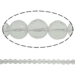 Quartz Jewelry Beads, clear quartz, Round, faceted, 14mm, Hole:Approx 1.5mm, Length:15.7 Inch, 20Strands/Lot, Sold by Lot