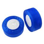 Organza Ribbon, blue, 3.7cm, Length:Approx 1000 Yard, 20PCs/Lot, Sold By Lot