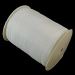 Organza Ribbon, white, 7mm, Length:approx 2500 Yard, 5PCs/Lot, Sold by Lot