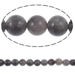 Natural Amethyst Beads, Grey Quartz, Round, 8mm, Hole:Approx 1.5mm, Length:Approx 15.6 Inch, 10Strands/Lot, Approx 49PCs/Strand, Sold By Lot