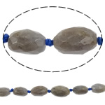 Natural Labradorite Beads, Oval, faceted, 12mm -28mm, Hole:Approx 1.5mm, Length:16 Inch, 10Strands/Lot, Sold By Lot
