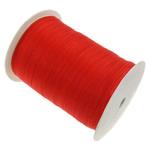 Organza Ribbon, red, 0.7cm, Length:2500 Yard, 5PCs/Lot, Sold By Lot
