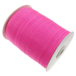 Organza Ribbon, pink, 0.7cm, Length:2500 Yard, 5PCs/Lot, Sold By Lot