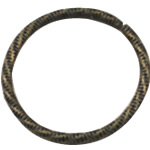 Zinc Alloy Linking Ring, Round, antique bronze color plated, nickel, lead & cadmium free, 25x25mm, 600PCs/Bag, Sold By Bag