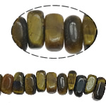 Natural Tiger Eye Beads, Rectangle, 2-4x6-7mm, Hole:Approx 1mm, Approx 117PCs/Strand, Sold Per Approx 16 Inch Strand