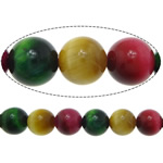 Natural Tiger Eye Beads, Round, mixed colors, 8mm, Hole:Approx 1mm, Length:Approx 15 Inch, 5Strands/Lot, Approx 46PCs/Strand, Sold By Lot