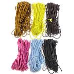 Nylon Cord, mixed colors, 3mm, Length:250 Yard, 5PCs/Lot, 50Yards/PC, Sold By Lot