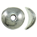 Zinc Alloy Jewelry Beads antique silver color plated nickel lead   cadmium free 10x3mm Hole:Approx 2mm Approx 1250PCs/KG