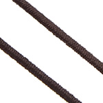 Elastic Thread, with plastic spool, South Korea Imported, brown, 0.80mm, Length:850 m, 10PCs/Lot, 85m/PC, Sold By Lot