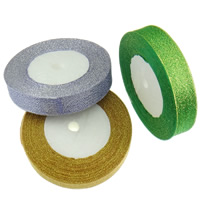 Satin Ribbon, Sparkle Ribbon, mixed colors, 20mm, 10PCs/Lot, 22m/PC, Sold By Lot