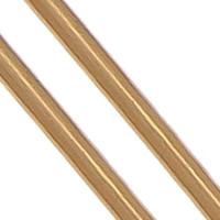 Brass Wire, with Plastic, stoving varnish, antique copper color, nickel, lead & cadmium free, 1mm, Length:2.5 m, 20PCs/Lot, Sold By Lot