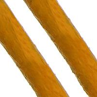 Sznurek skóra bydlęca, Sznur z krowiej skóry, pomarańczowy, bez zawartości niklu, ołowiu i kadmu, 2mm, długość:około 100 m, sprzedane przez PC
