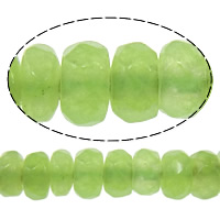 Natural Marble Beads Dyed Marble Rondelle faceted green 2x4mm Hole:Approx 0.5mm Length:Approx 15 Inch 10Strands/Lot Approx 160PCs/Strand