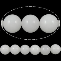 Natural Marble Beads Dyed Marble Round white 10mm Hole:Approx 1mm Length:15.5 Inch 10Strands/Lot 39PCs/Strand