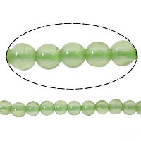 Natural Jade Beads Jade Olive Round 2mm Hole:Approx 1.5mm Approx 190PCs/Strand Sold Per Approx 15 Inch Strand