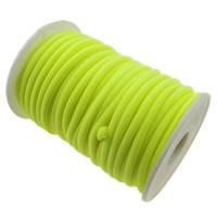 Nici elastyczne, Nylon, zielony fluorescencyjny, 4mm, długość:około 20 m, sprzedane przez PC