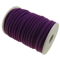Elastic Thread, Nylon, purple, 4mm, Length:Approx 20 m, Sold By PC