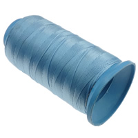 Nylon Thread, with plastic spool, without elastic, 9-yarn, light blue, 0.70mm, Length:310 m, 10PCs/Lot, Sold By Lot