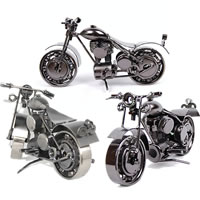 Iron Decoration, Motorcycle, plated, mixed colors, nickel, lead & cadmium free, 230x100x110mm, 5PCs/Bag, Sold By Bag