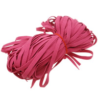 Velveteen Cord, Wool, lotus red, 10mm, Length:150 m, 150PCs/Lot, 1m/PC, Sold By Lot