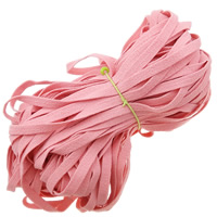 Velveteen Cord, Wool, pink, 10mm, Length:150 m, 150PCs/Lot, 1m/PC, Sold By Lot