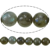 Labradorite Beads, Round, 12mm, Hole:Approx 1.5mm, Length:Approx 16 Inch, 10Strands/Lot, Approx 34PCs/Strand, Sold By Lot