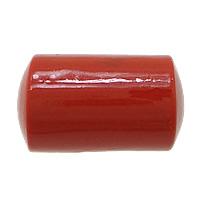 Cynobrowy koraliki, Cynober, Kolumna, Naturalne, czerwony, 17x10x10mm, otwór:około 2mm, 10komputery/torba, sprzedane przez torba
