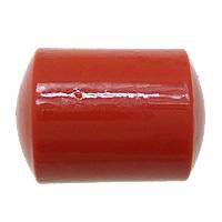 Cynobrowy koraliki, Cynober, Kolumna, Naturalne, czerwony, 16x12x12mm, otwór:około 2mm, 10komputery/torba, sprzedane przez torba