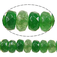 Dyed Marble Beads Rondelle faceted green 2x4mm Hole:Approx 1mm Length:Approx 15 Inch 5Strands/Lot Approx 60PCs/Strand