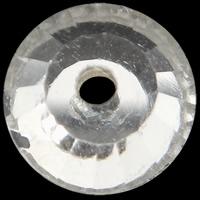 الخرز أزياء زجاج, جولة شقة, لون الفضة مطلي, حجر الراين التقليد & حجم مختلفة للاختيار & الأوجه, حفرة:تقريبا 0.5-1mm, 288أجهزة الكمبيوتر/الكثير, تباع بواسطة الكثير