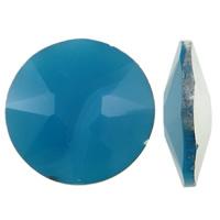 Стразы клеевые, Кристаллы, Плоская круглая форма, плакирован серебром, острый конец & имитация под кристаллы CRYSTALLIZED™, много цветов для вабора, 30x9mm, 10ПК/сумка, продается сумка