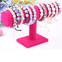Velveteen Bracelet Display, more colors for choice, 140x236mm,50mm,100mm,70mm, 12PCs/Lot, Sold By Lot