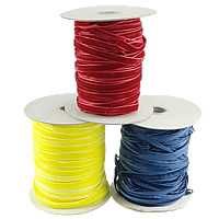 Velveteen Cord, with plastic spool, more colors for choice, 10mm, Length:200 Yard, Sold By PC