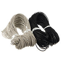 Cowhide Cord, different size for choice, more colors for choice, 100m/Lot, Sold By Lot
