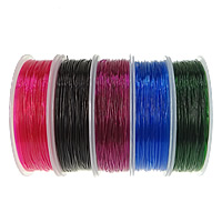 Elastic Thread, with plastic spool, different size for choice, more colors for choice, 10PCs/Lot, Sold By Lot