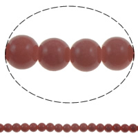 Fashion Glass Beads, Round, solid color, more colors for choice, 8mm, Hole:Approx 1.5mm, Length:Approx 32 Inch, 10Strands/Bag, Approx 108/Strand, Sold By Bag
