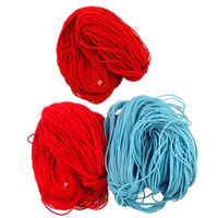 Velveteen Cord mixed colors 3.5mm Length:Approx 200 m 2Bags/Lot