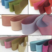 Organza Ribbon, double-sided, more colors for choice, 25mm, 50Yards/Lot, Sold By Lot